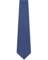 Eton of Sweden - Geometric Diamond Silk Tie - Lyst
