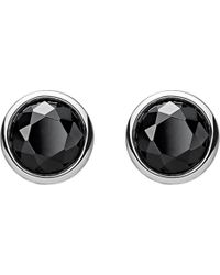 Thomas Sabo - Classic Black Stone Sterling Silver Ear Studs - Lyst