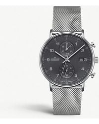 Junghans - 041/4877.44 Form C Stainless Steel Chronograph Watch - Lyst