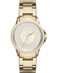 Armani Exchange - Ax4321 Rose Gold-plated Stainless Steel Watch - Lyst
