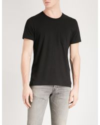 Tom Ford | Pocket-detailed Crewneck Cotton-jersey T-shirt | Lyst