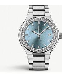 Hublot - 585.nx.891l.nx.1204 Classic Fusion Titanium And Diamond Watch - Lyst