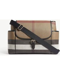 Burberry - House Check Changing Bag - Lyst
