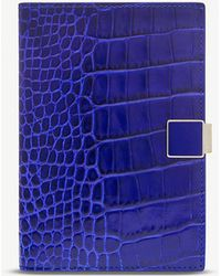 Smythson - Mara Leather Passport And Documents Cover - Lyst