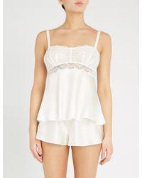 Nk Imode - Lola Fizzy Silk-satin Pyjama Shorts - Lyst