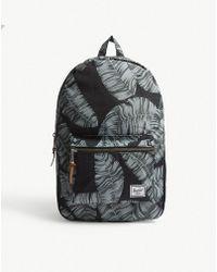 Herschel Supply Co. - Settlement Palm Tree Canvas Backpack - Lyst