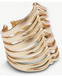 Kendra Scott - Liv 14ct Rose Gold-plated Cocktail Ring - Lyst