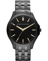 Armani Exchange - Ax2144 Ion-plated Steel Watch - Lyst