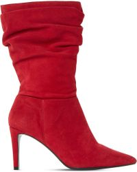 Dune - Reenie Suede Calf Boots - Lyst