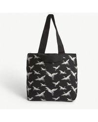 Whistles - Crane Knitted Tote Bag - Lyst