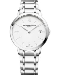 Baume & Mercier - M0a10356 My Classima Stainless Steel Watch - Lyst