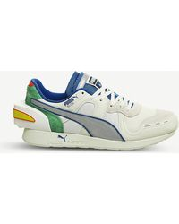 PUMA - X Ader Error Rs-100 Suede And Mesh Trainers - Lyst