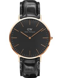 Daniel Wellington - Classic York Rose Gold Watch - Lyst