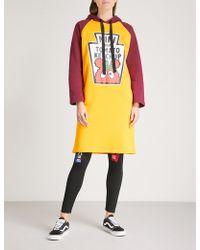 Mini Cream - Tomato Ketchup Cotton-blend Hoody Dress - Lyst