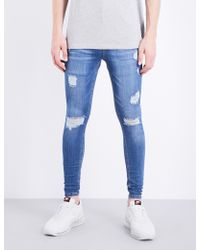 HERA - Spray-on Rip Repair Slim-fit Skinny Jeans - Lyst