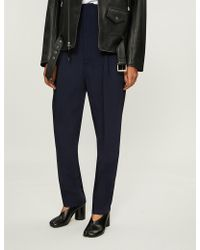 Toga - Regular-fit High-rise Wool Trousers - Lyst