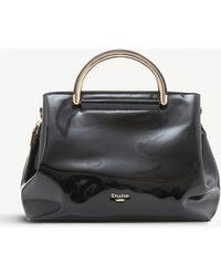 Dune - Daandelion Patent Handbag - Lyst