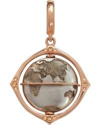 Annoushka - Mythology Globe 18ct Rose-gold And Diamond Charm - Lyst