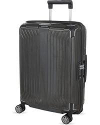 Samsonite - Lite-box 4 Wheel Spinner Suitcase 55cm - Lyst