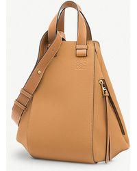 Loewe - Ladies Light Caramel Brown Hammock Leather Handbag - Lyst