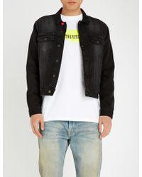 Trapstar - Graphic-print Denim Jacket - Lyst