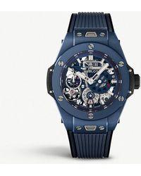 Hublot - Big Bang Meca-10 Ceramic Watch - Lyst