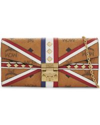 MCM - Union Jack Leather Wallet - Lyst