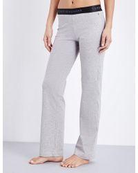 Tommy Hilfiger - Iconic Stretch-cotton Pyjama Bottoms - Lyst