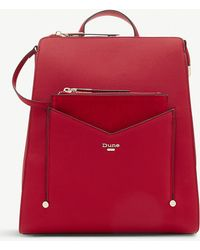 Dune - Large Faux-leather Backpack - Lyst