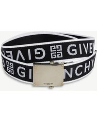 Givenchy - Logo-jacquard Belt - Lyst