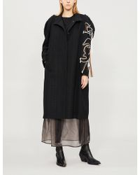 Litkovskaya - Frida Thread-detail Wool-blend Coat - Lyst