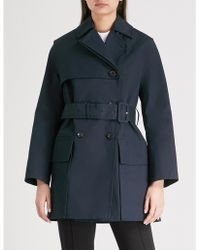 JOSEPH - Aquila Cotton Trench Coat - Lyst