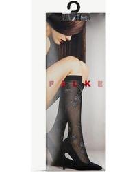 Falke - Ephemeral Floral Knee-high Socks - Lyst