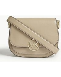 1f20a7f62ad1 MICHAEL Michael Kors - Lillie Small Leather Saddle Bag - Lyst