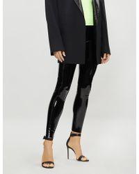Commando - Patent Faux-leather leggings - Lyst