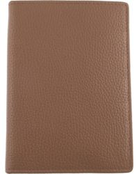 Dents - Rfid Protection Leather Passport Holder - Lyst