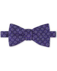 Eton of Sweden - Floral Silk Bowtie - Lyst