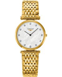 Longines - L4.512.2.87.8 La Grande Classique 18ct Yellow Gold And Stainless Steel Watch - Lyst