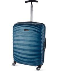 Samsonite - Lite-shock Spinner 55 Four-wheel Cabin Suitcase - Lyst