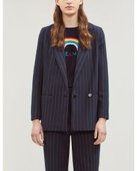 Chinti & Parker - Rainbow-embroidered Cashmere Jumper - Lyst