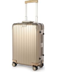 Rimowa - Topas Four-wheel Titanium Cabin Suitcase 55cm - Lyst