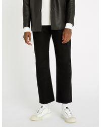Sandro - Regular-fit Straight Denim Jeans - Lyst