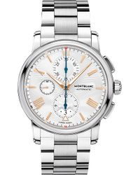 Montblanc - 114856 4810 Stainless Steel Watch - Lyst