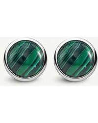 Thomas Sabo - Tropical Sterling Silver And Malachite Earrings - Lyst