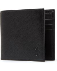 Polo Ralph Lauren - Pony-embossed Pebbled Leather Wallet - Lyst