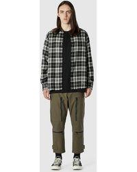 Uniform Experiment - Cutoff Flannel Shirt - Lyst