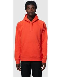 080e9e62 Carhartt WIP Chase Hoody in Purple for Men - Lyst