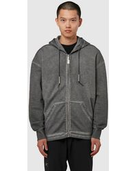 A_COLD_WALL* Basic Zip Hoodie - Gray