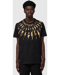 Neil Barrett Multi Flame Bolt T-shirt - Black