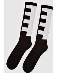 Rick Owens Striped Socks
